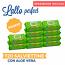 MegaPack Salviettine detergenti Lallo perfect con Aloe Vera | 10 x 72 pezzi